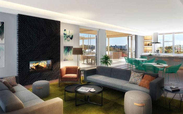 Luxury Apartment Buildings: Radius Apartments